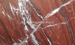 Indian red lava the marble