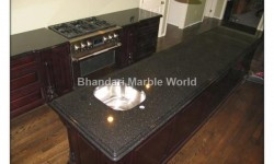 black glaxy granite