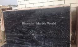 GOLDEN WAVE BLACK MARBLE